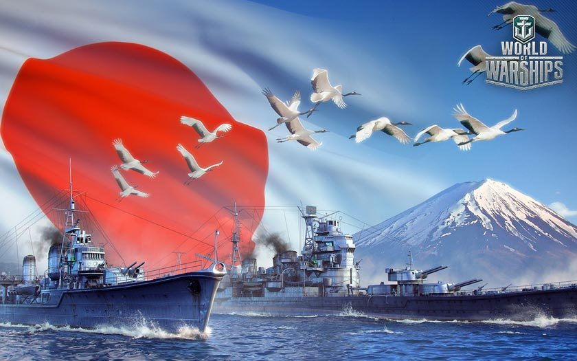 Japan - World of Warships Guide 1