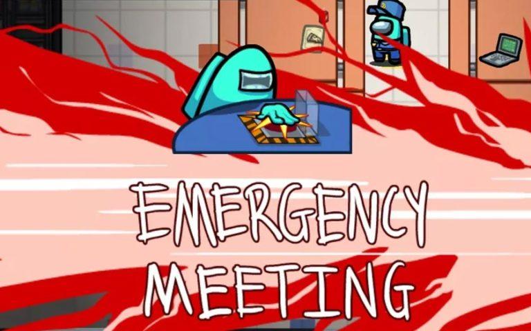 Among Us Meeting