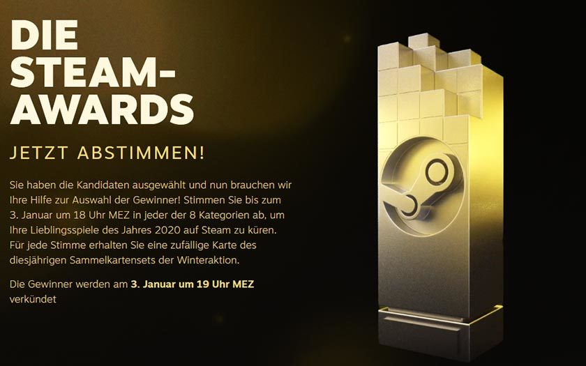 Steam-Awards 2020